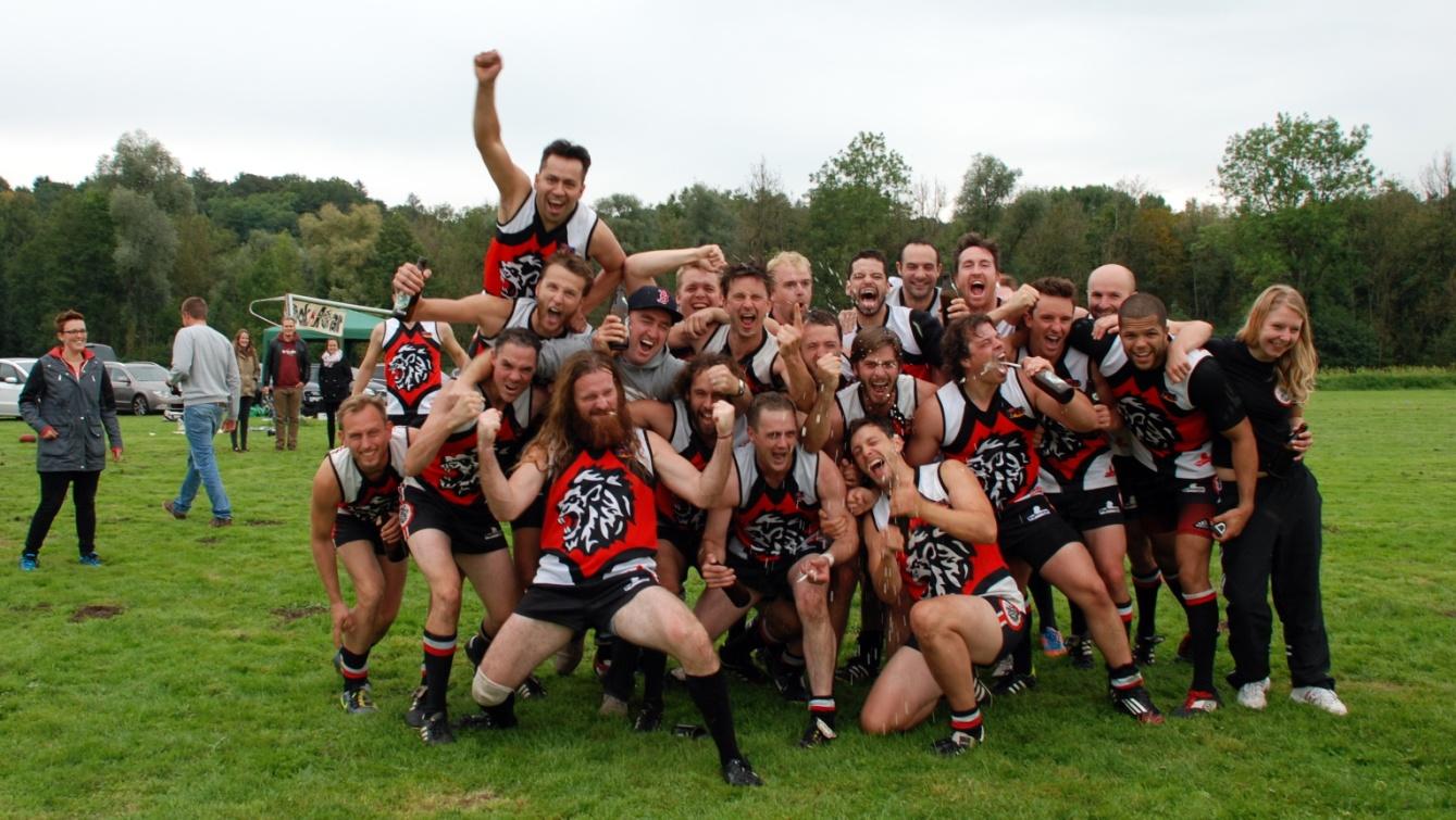 Deutscher Meister 2014: Rheinland Lions